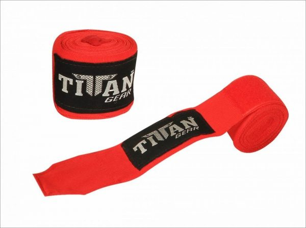 Red Boxing Hand Wraps